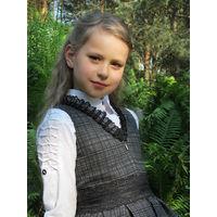 Школьный сарафан. НОВЫй. р. 122. 128, 134.