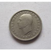 Греция 2 драхмы 1957
