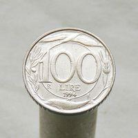 Италия 100 лир 1994