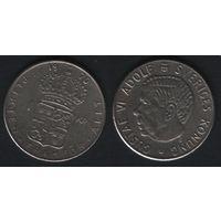 Швеция km826a 1 крона 1970 год (f60)