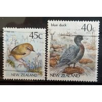 Нов.Зеландия птицы-2 марочки
