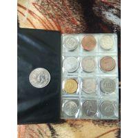 Подарок на 45и летие.Монеты мира 1975 года.
