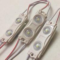 БЕЛЫЕ холодные ((цена за 3 шт)) 2835 светодиодный модули 0,72 Вт. 2 светодиода. 12 Вольт