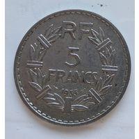 Франция 5 франков, 1935 4-14-23