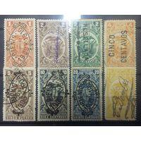 Эквадор гербовые марки 1899-1906