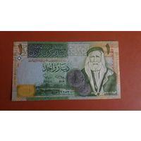 Банкнота 1 динар Йордания 2002