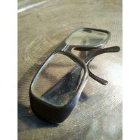 Очки защитные, 1985 г., СССР, слесарные или для косилки, не были в использовании