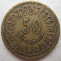 Тунис 50 миллим 1993 г. (g)