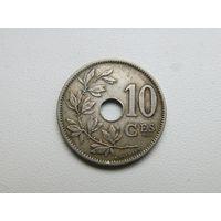 БЕЛЬГИЯ 10 сантимов 1902 Леопольд II валлонский вариант