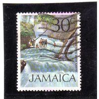 Ямайка. Ми-360.Водопад Данн-Ривер, Очо-Риос.1972.