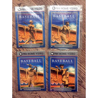 История Бейсбола - 4 Фирменных DVD диска USA (номера 3, 4, 6, 8)