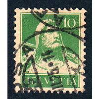39: Швейцария, почтовая марка, 1914 год, номинал 10с, SG#280