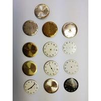 Часы Луч,механизмы позолота и циферблаты.Старт с рубля.