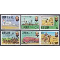 1979 Либерия 1098-1103b Локомотивы / Транспорт 25,00евро