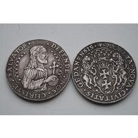 Талер 1577 Иисус Христос. Красивая копия
