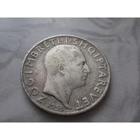 Албания, 2 франга ари, 1935 г. (Торг уместен!)