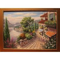 Картина маслом 147 ривьера 2 60х80