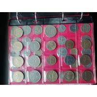 17 монет.