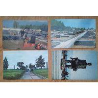 Хатынь. 4 открытки. 1970 г. Чистые