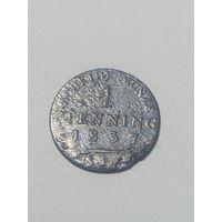 1 pfenning 1837  г
