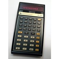 Калькулятор Texas Instruments SR-50A. 1975 год.