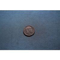 Один пенни 1902 года