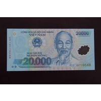 Вьетнам 20000 донг 2016 UNC