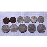 Лот советов (билон) и не только 11 монет с рубля