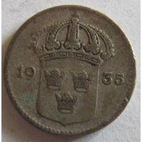 Швеция 10 эре 1935 серебро
