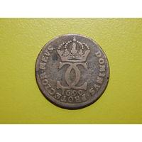 Швеция. 5 эре (ор, оре, эйре) 1699.
