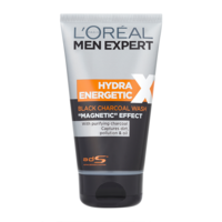 "ГЕЛЬ для умывания L'Oreal Paris Men Expert Hydra Energetic Black Charcoal Wash ""Magnetic"" Effect 150мл"