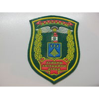 Шеврон отдельный авиационный отряд Поставы ПВ Беларусь