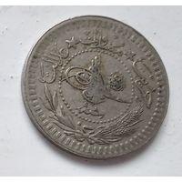 """Османская империя 40 пар, 1327 (1909) """"el-Ghazi"""" справа """"Л"""" (8) 5-2-19"""