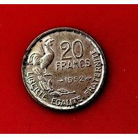 49-24 Франция, 20 франков 1952 г.