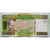 Гвинея 500 франков 2006. UNC