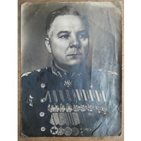 Фото Клемента Ворошилова. 1940-е. 22х29 см