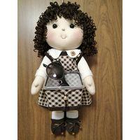 Интерьерная кукла - хранительница мелочей. Ручная работа.