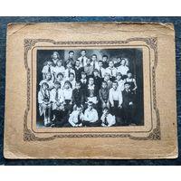 Фото учащихся 4-го класса. Пионеры. 1920-30-е. 12х16 см.