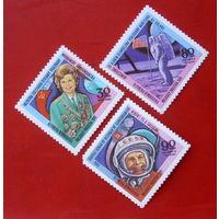 Мадагаскар. Космос. ( 3 марки ) 1981 года.