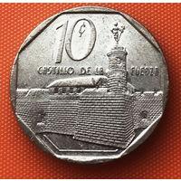 02-13 Куба, 10 сентаво 1994 г.