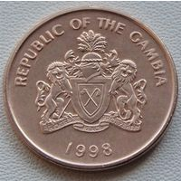 Гамбия. 5 бутутов 1998 год   KM#55