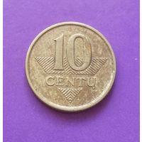 10 центов 2007 Литва #03
