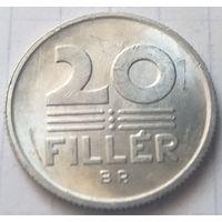 Венгрия 20 филлеров, 1986      ( 3-8-5 )