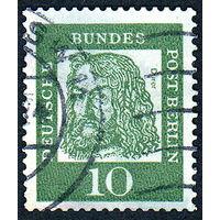 114: Германия (Западный Берлин), почтовая марка, 1961 год