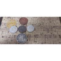 Сборный лот серебра + бонус 5 копеек 1924