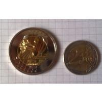 Ватикан 2 евро 2008г. -образец-
