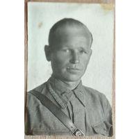 Фото капитана. 1943 г. 5.5х8 см