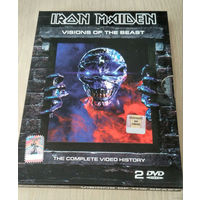 IRON MAIDEN - VISION OF THE BEAST- 2003 - \ DVD \ 2  ДИСКА