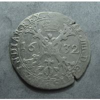 1/2 патагона(талера ) 1632г, Испанские Нидерланды, Брабант