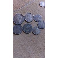 Монеты южной Африки! 13 штук Георгий от 1926 года!